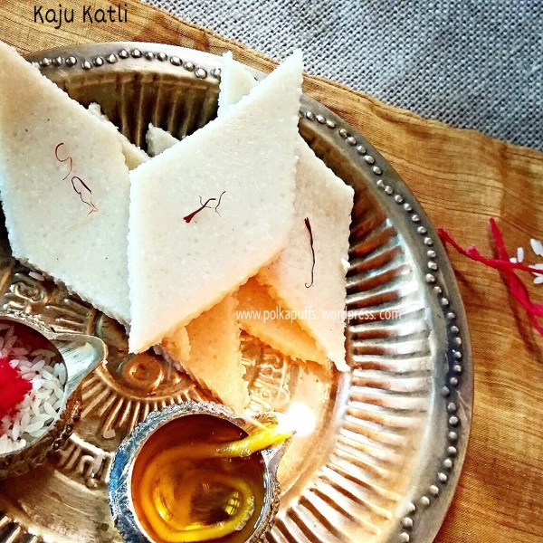 Kaju Katli recipe Cashew thins Recipe for Indian sweets Kaju Katli for diwali diwali sweets