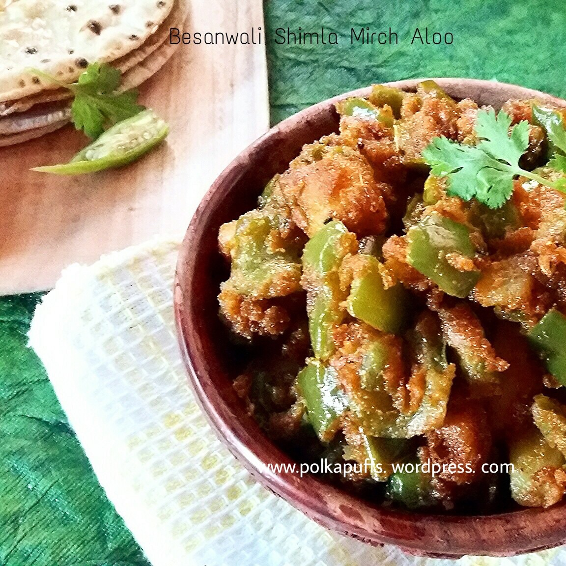 Lunch box recipes archives polka puffs besanwali shimla mirch aloo aloo shimla mirch indian recipes simla mirch ki sabji capsicum cooked in forumfinder Images