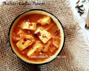 Phalhari Kadhai Paneer Glutenfree recipe Navratri vrat recipes Navratri fasting menu Paneer recipes Easy paneer recipe Indian recipes Festive cooking Cottage cheese cooked in Indian style Tomato and cottage cheese Kadhai paneer No onion no garlic recipe