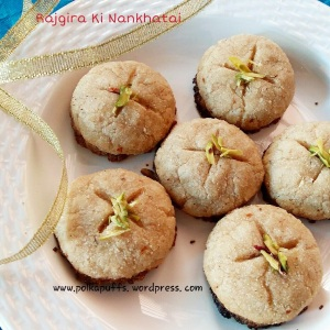 Rajgira Ki Nankhatai/ Amaranth Cookies/ Glutenfree Cookies/ Navratri Recipes/ Fasting Menu for Navratri Festival Amaranth recipes Glutenfree recipes Vrat ka khana