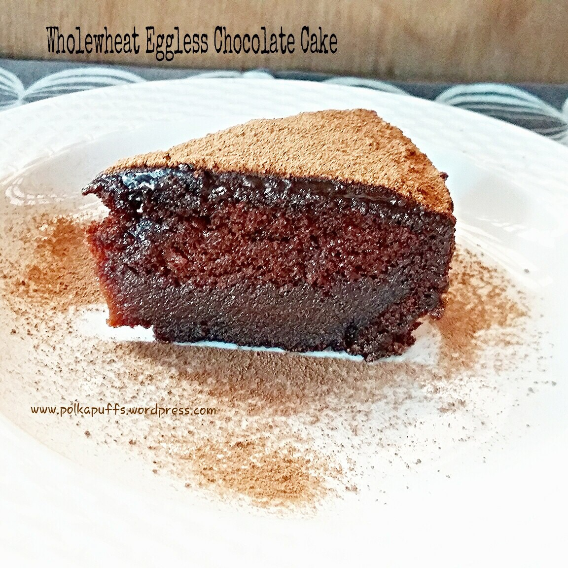 Wholewheat Chocolate Cake Basic Eggless Sponge Recipe With Frosting