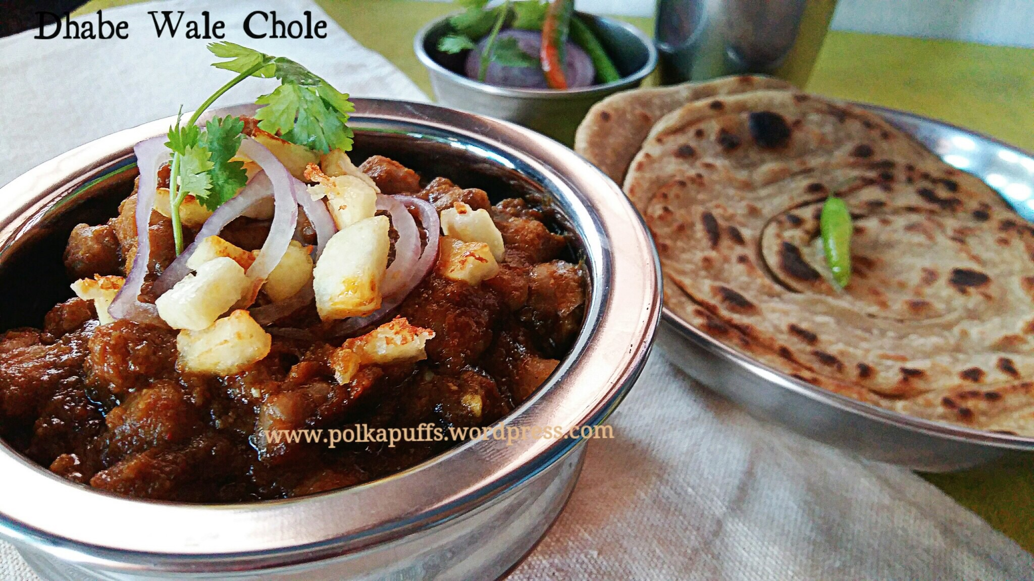 Dhabe wale chole chickpeas in a spicy indian curry chana masala how to make chana masala recipe of chole bhature polkapuffs chole recipe dhaba style chole dhaba forumfinder Images