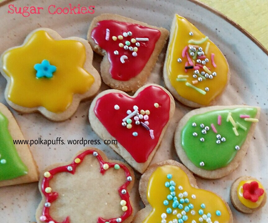 How To Make Basic Sugar Cookies Wholewheat Recipe Icing On Frosted