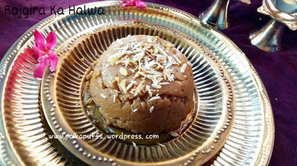 Rajgira Halwa Glutenfree recipe food Navratri vrat recipes Navratri fasting menu Amaranth recipes Easy amaranth fudge Indian recipes Festive cooking