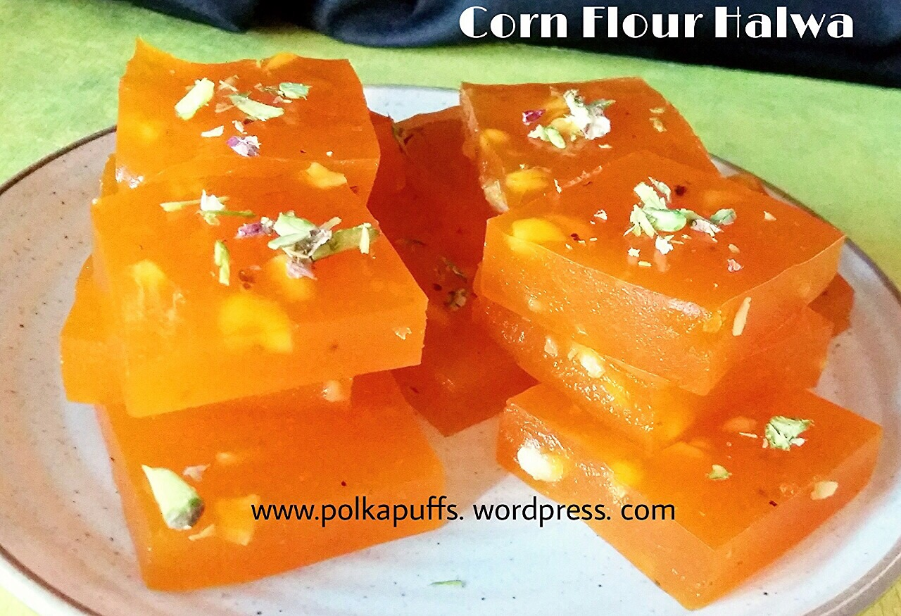 Recipes for diwali sweets archives polka puffs how to make karachi halwa recipe for cornflour halwa bombay halwa recipeimage for karachi halwa custard forumfinder Image collections