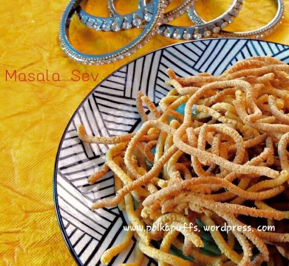 Masala sev recipe How to make masala sev Teekhi sev recipe Indian snack Savoury snacks Diwali recipes Besan sev recipe