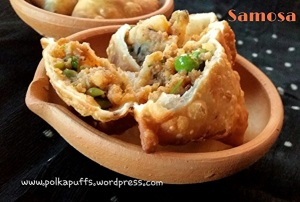 Samosa recipe How to make samosa North Indian samosa recipe Starters Indian snacks Indian street food Indian Chaat recipes Samosa chaat Polkapuffs