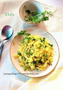 Poha recipe kanda poha recipe Matar poha chuda matar recipe Marathi snacks Bhopal style pohe How to make poha at home