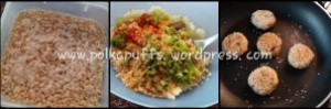 Sesame soya tikki recipe Polkapuffs recipes Indian starters Snacks Easy snacks Vegetarian starters Soya Aloo tikki