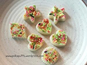 Polkapuffs homemade chocolate