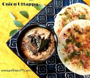 Onion Uttappam Onion Uttappa How to make onion Uttappam Udupi recipes Polkapuffs recipe