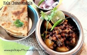 Kala Chana masala Chana masala recipe Indian recipes Polkapuffs recipe Main course Meal ideas
