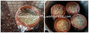 Thandaai flavoured Bhapa Doi Polkapuffs recipe Bhapa Doi recipe Bengali sweet dish recipe How to make Bhapa Doi at home Holi recipes