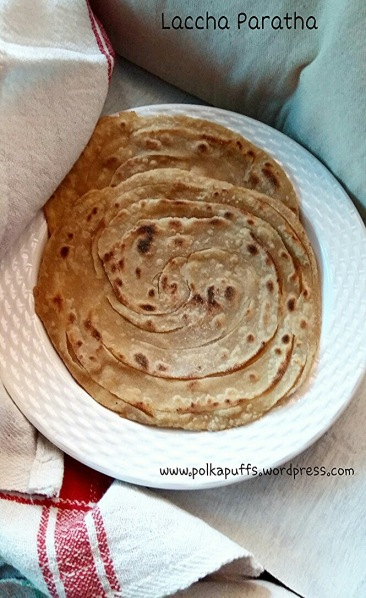 How to make Laccha paratha Polkapuff recipes Laccha paratha step by step