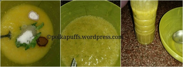 Aam panna recipe Indian mango cooler Homemade aam Panna Raw Mayo aam Panna Polkapuffs