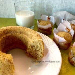 Banana Bread bread Eggless banana bread recipe How to make banana bread Banana muffins recipe Breakfast muffins recipe Polkapuffs recipes