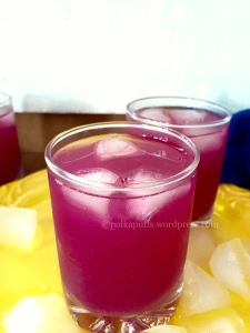 Jamun Panna Indian Java Plum Cooler Polkapuffs recipes Summer coolers Easy home made drinks