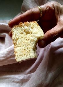 Pressure cooker cake recipe PolkaPuffs recipe Vanilla sponge cake in pressure cooker