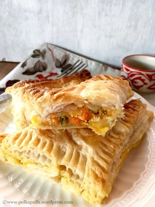 Bakery Style Vegetable Puffs recipe McDonalds Pizza McPuffs recipe Polkapuffs recipes