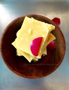 Ghee Mysore Pak recipe How to make Mysore Pak Polkapuffs recipe Diwali Sweet's Raksha bandhan sweets