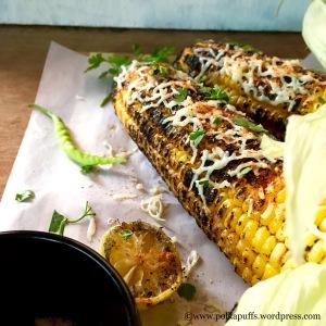 How to make masala corn on the cob Polkapuff recipe for corn on the cob Healthy corn on the cob recipes