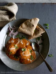 Makhani Methi Makai kofta recipe Polkapuffs recipe Polkapuffs blog