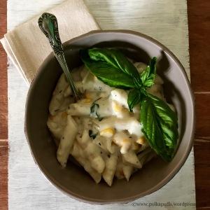 How to make penne pasta in lemon cream sauce Polkapuffs recipe Pasta in white sauce recipe