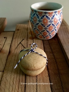 How to make wholewheat cookies Wholewheat cardamom cookies recipe Atta biscuit recipe How to make atta cookies Polkapuffs wholewheat cookies