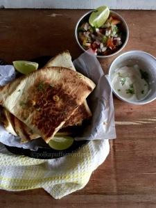 How to make veg quesadillas Polkapuffs recipes Recipe for Mexican quesadillas