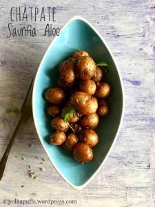 Chatpate Saunfia Aloo No onion no garlic recipes Polkapuffs Aloo Recipe Recipes for Navratri