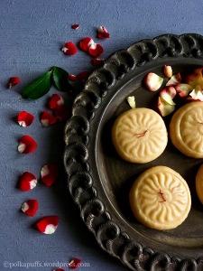 Instant Kesar Peda recipe How to make kesar Peda Polkapuffs recipes Diwali sweets recipe