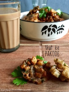 Vrat ke pakode recipe Polkapuffs recipes Navratri up was ka khana Vrat recipes Fasting recipes