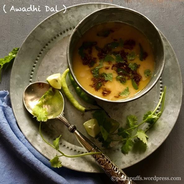 Awadhi dal Sultani dal Mughlai recipes Polkapuffs recipes