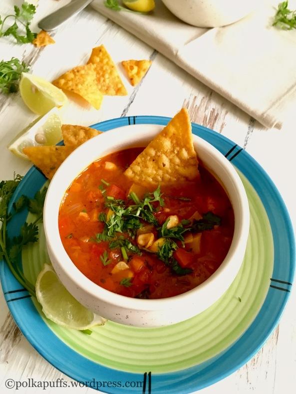 How to make Mexican vegetable soup  Polkapuffs recipes  Shreya tiwari recipes  Healthy diets friendly soup recipe  Soup recipes