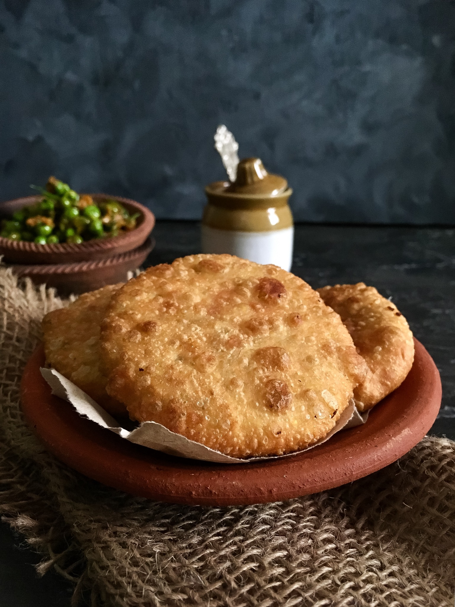 Mattar ki kachori recipe Mutter ki kachori recipe How to make green peas kachori Polkapuffs recipes Shreyatiwari recipes