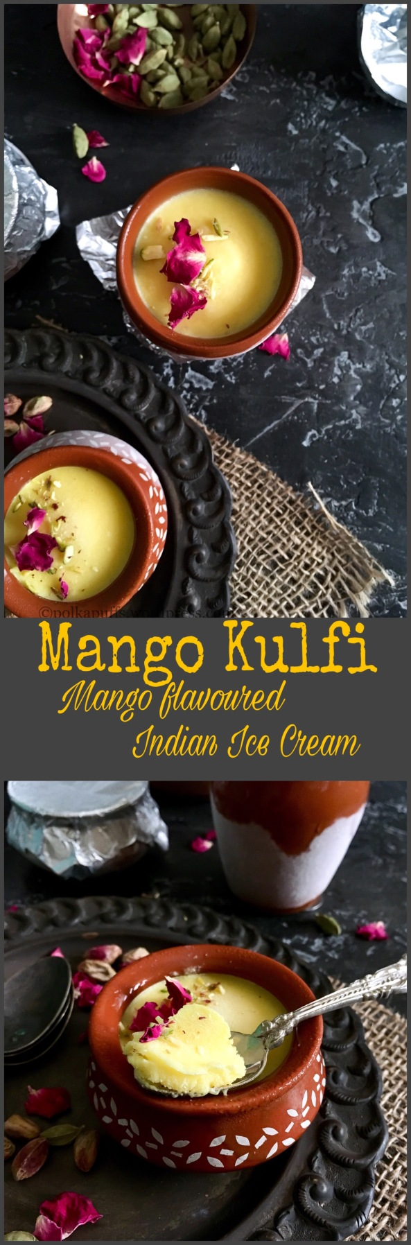 Mango Kulfi | Mango flavoured Indian Ice Cream | Glutenfree recipe