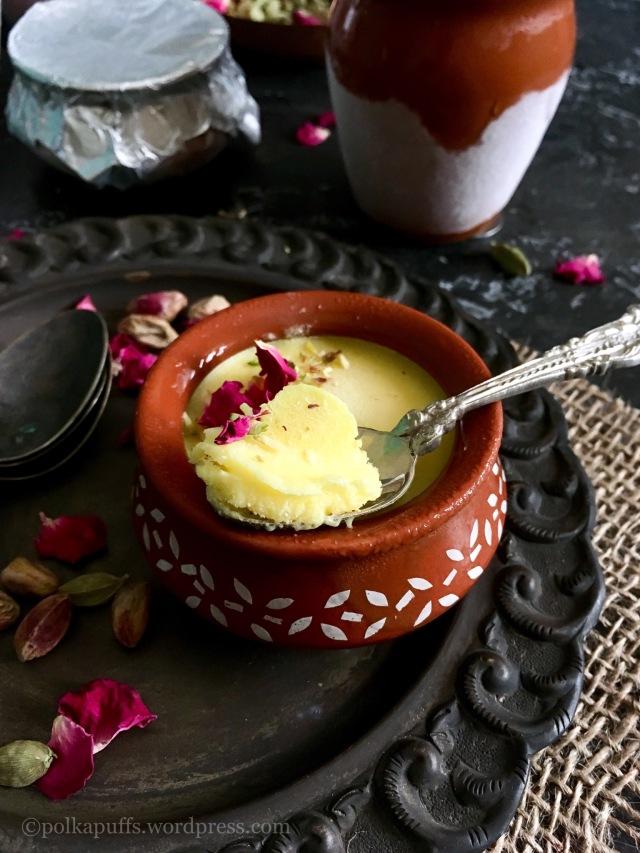 Mango Kulfi recipe Kulhad kulfi recipe How to make instant kulfi Easy recipe for kulfi Homemade mango kulfi recipe Kesar pista kulfi recipe Polkapuffs recipes Indian ice cream No condensed milk no milk powder Kulfi recipe Shreya Tiwari recipes