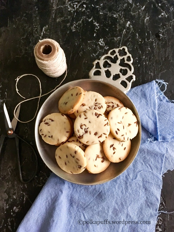 Jeera biscuits Bakery style jeera cookies Polkapuffs recipes Shreya Tiwari photography How to make cumin cookies Recipe for cumin cookies